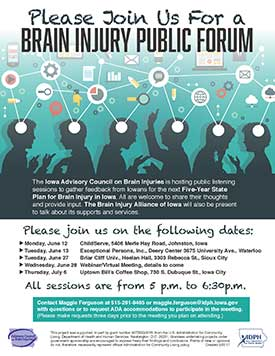 Brain Injury Public Forum